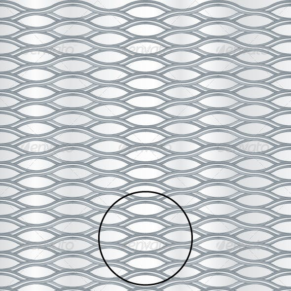 Metal Grill Background Pattern