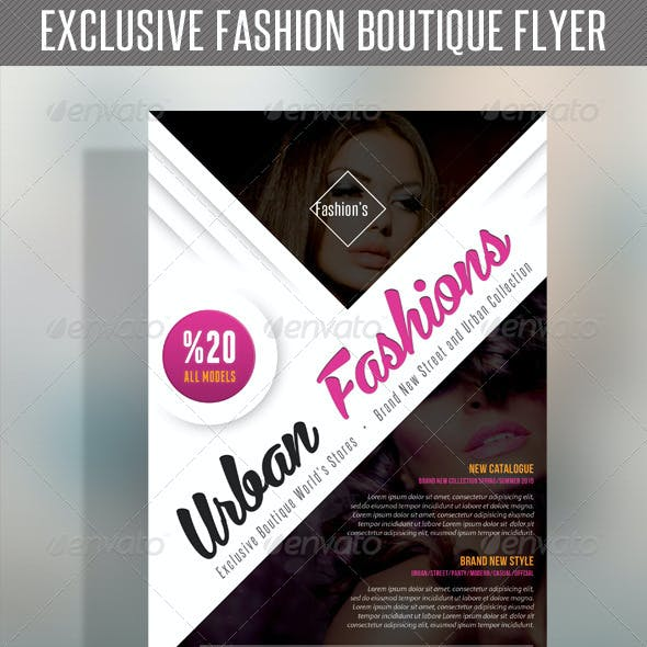 Fashion Product Flyer 52