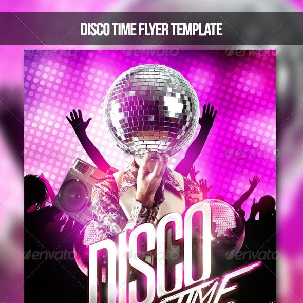 Disco Time Flyer