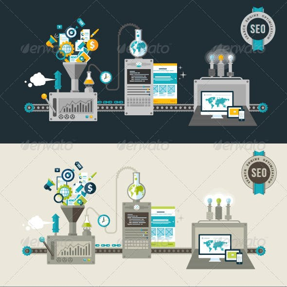 Flat Design Concepts for Web and SEO