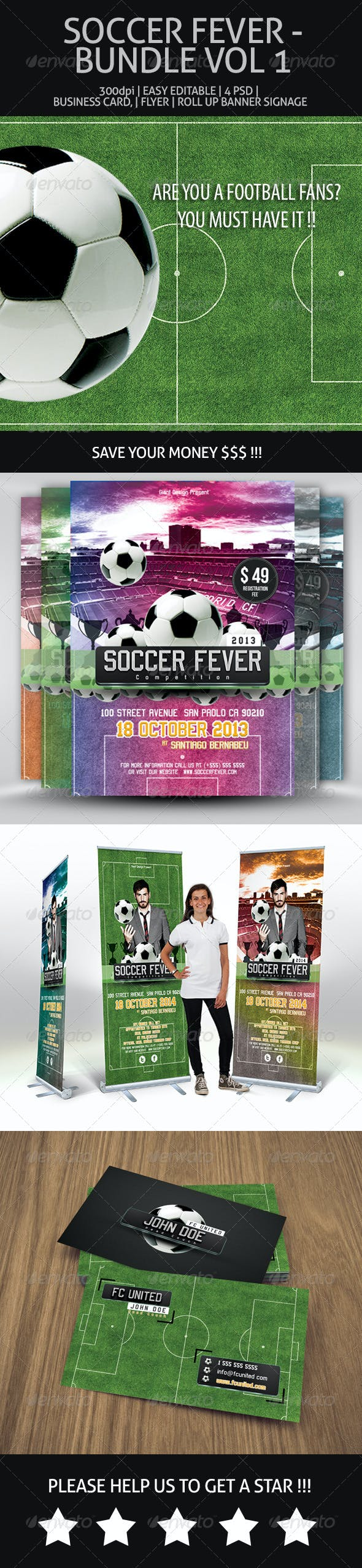Soccer Fever - Bundle Vol 1