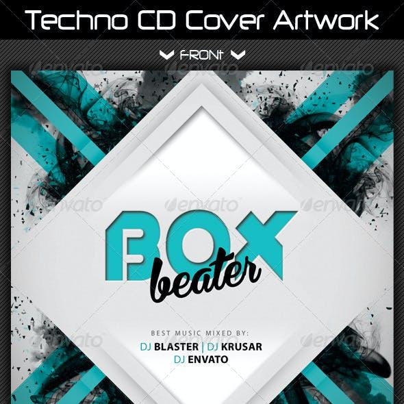 Techno CD Cover Artwork 03