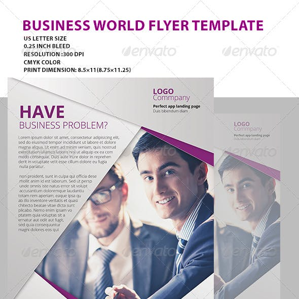 Modern Creative Flyer top