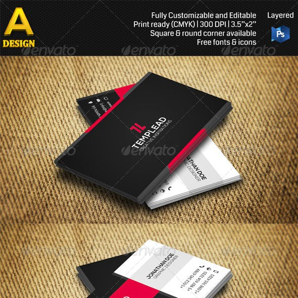 Corporate Business Card AN0372
