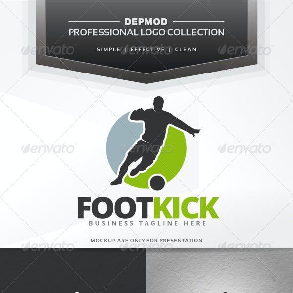 Foot Kick Logo
