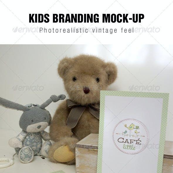 Kids Branding Mockup