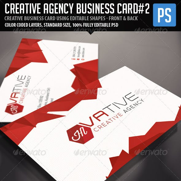 Creative Corporate Agency Business Card Vol.2
