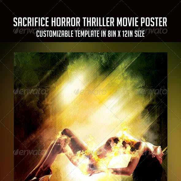 Sacrifice | Horror Thriller Movie Poster