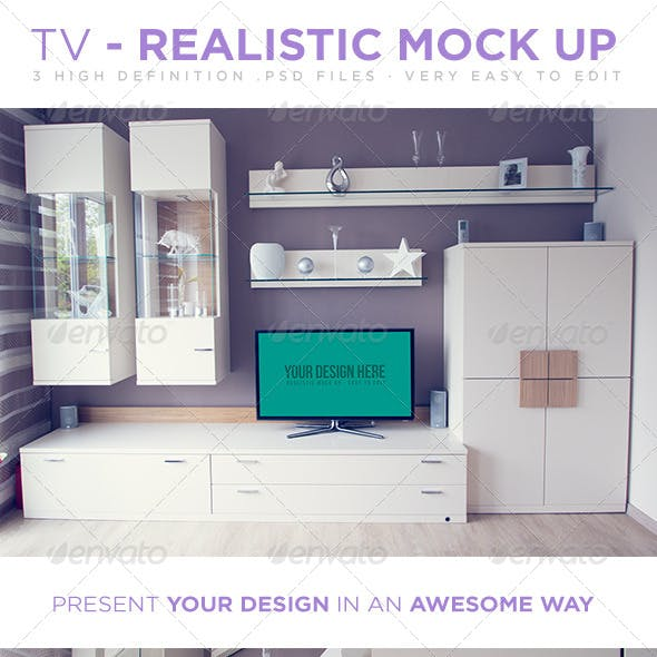 TV  - Realistic Mock Up