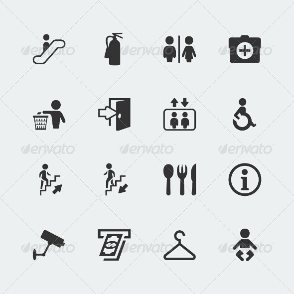 Public Signs - Miscellaneous Icons