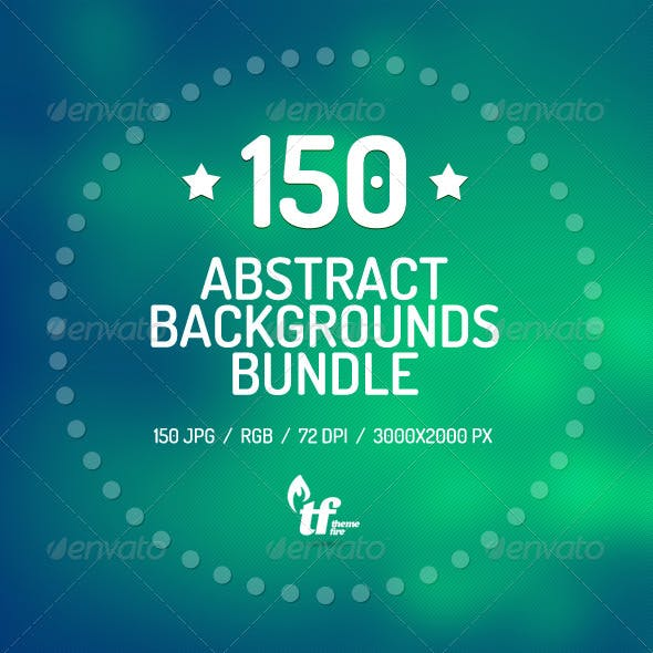 150 Abstract Backgrounds Bundle