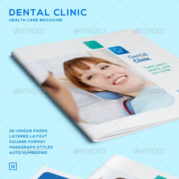 Dental Clinic - Health Care Brochure