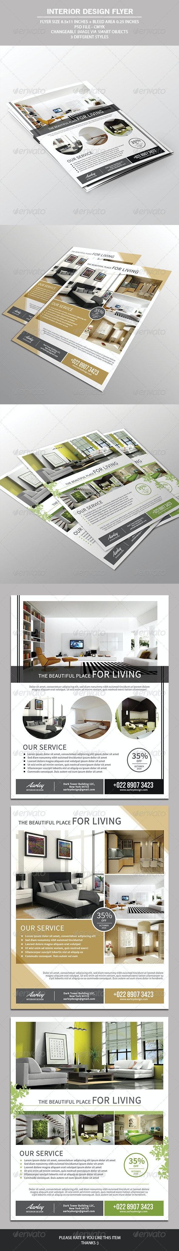 Interior Design Flyer - Commerce Flyers