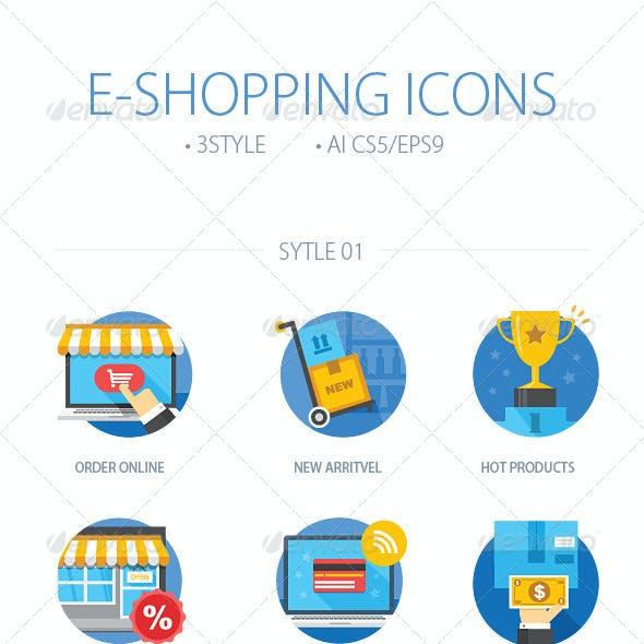 E-Shopping Icons