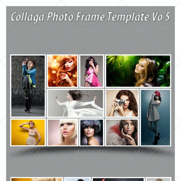 Collaga Photo Template Vo 5