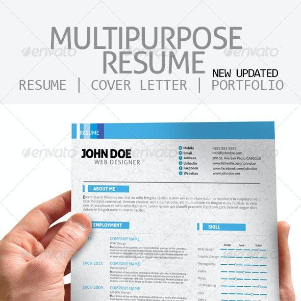 Multipurpose Resume