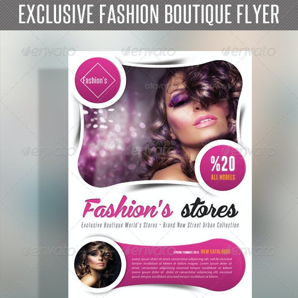 Fashion Product Flyer 53