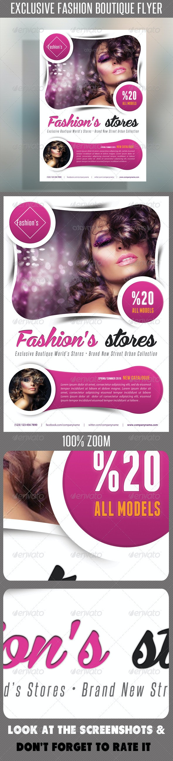 Fashion Product Flyer 53 - Flyers Print Templates