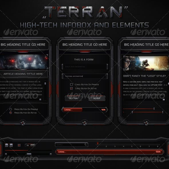 Terran High-Tech Information Box