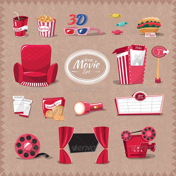 Movie Icon in Theater