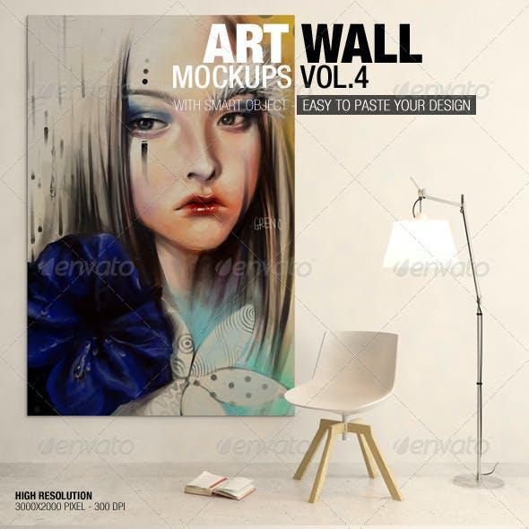 Art Wall Mockups Vol.4