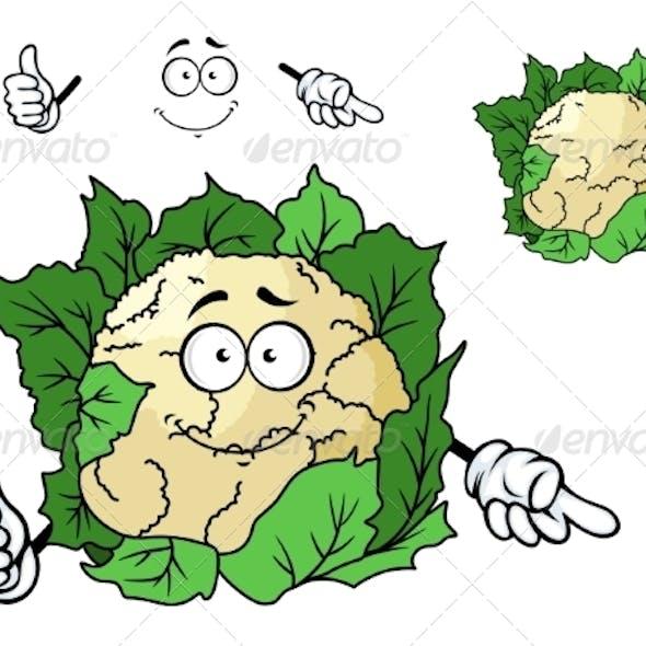 Cauliflower Cartoon