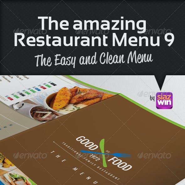 The Restaurant Menu 9