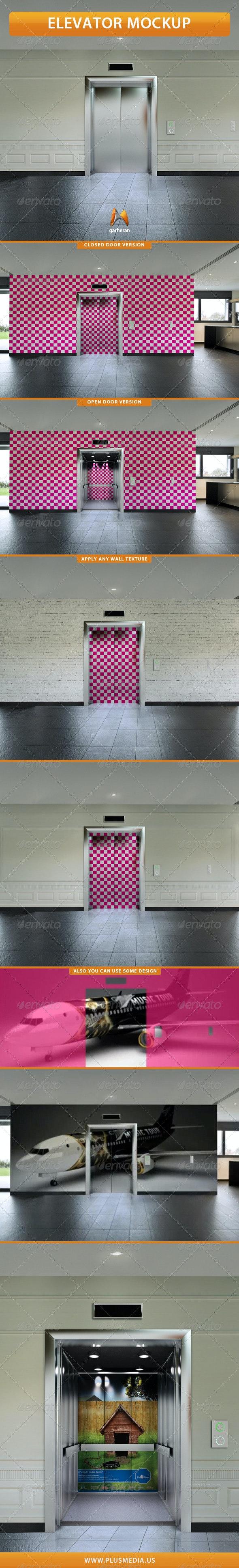 Elevator Mockup - Miscellaneous Print