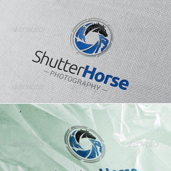 Shutter Horse Logo Template