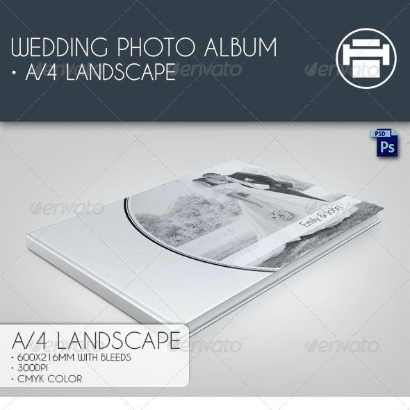 Wedding Photo Album A4 Landscape