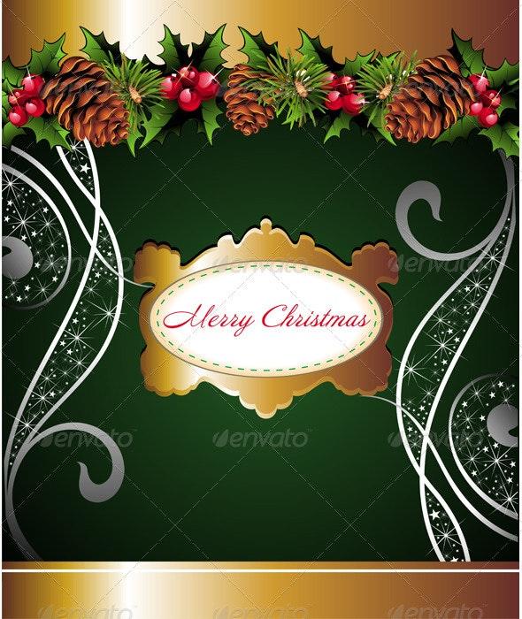 Christmas Background 4 - Seasons/Holidays Conceptual