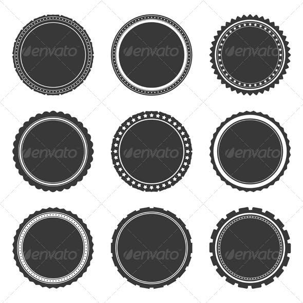 Gray Labels Temlates