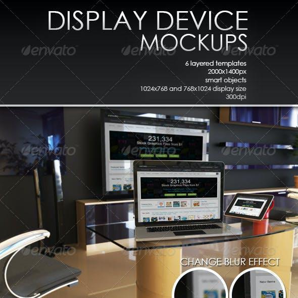 Display Device Mockup