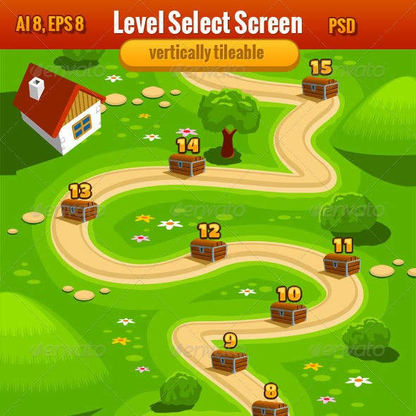 Level Select Screen or Game Interface