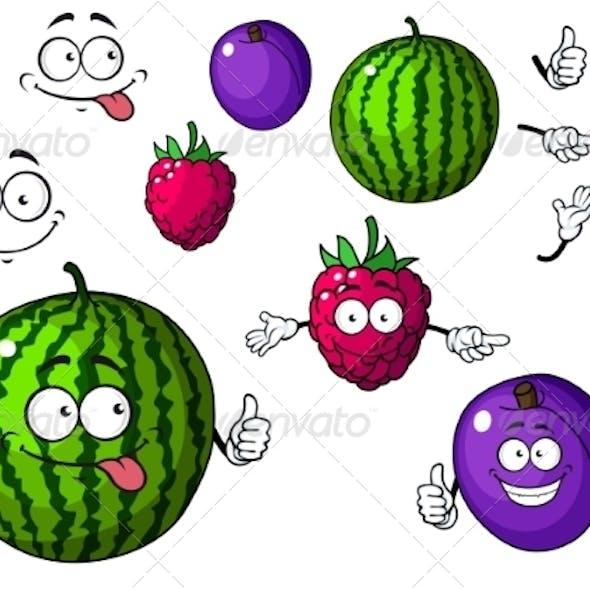 Fruit Cartoons