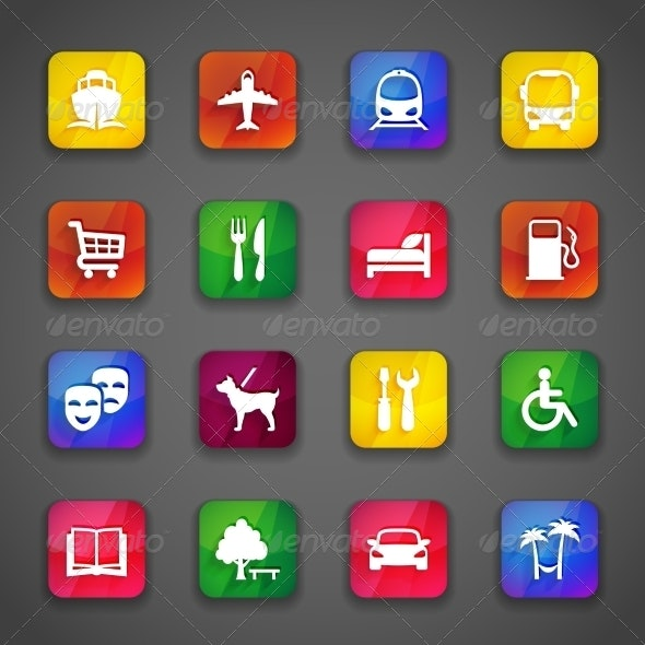 Icons on Buttons - Web Technology