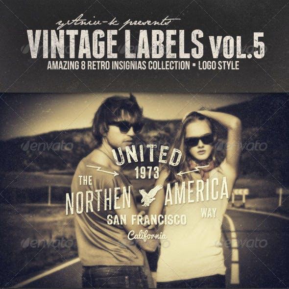 Vintage Labels Vol.5