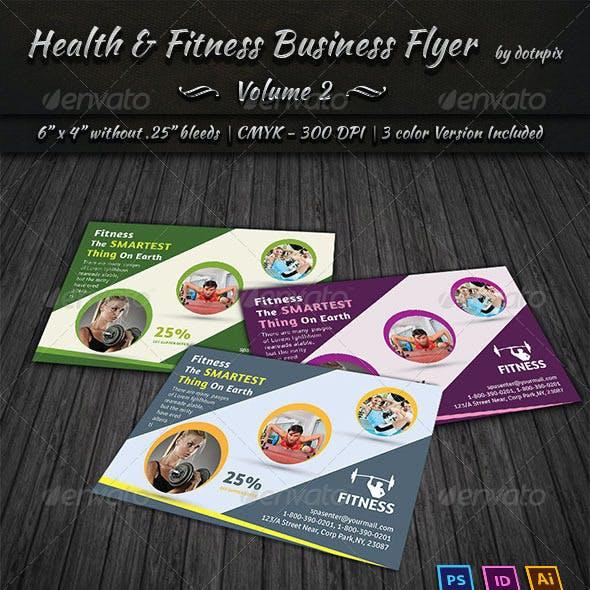 Health & Fitness Center Flyer | Volume 2