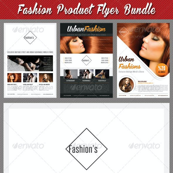 3 in 1 Fashion Product Flyer Bundle 18