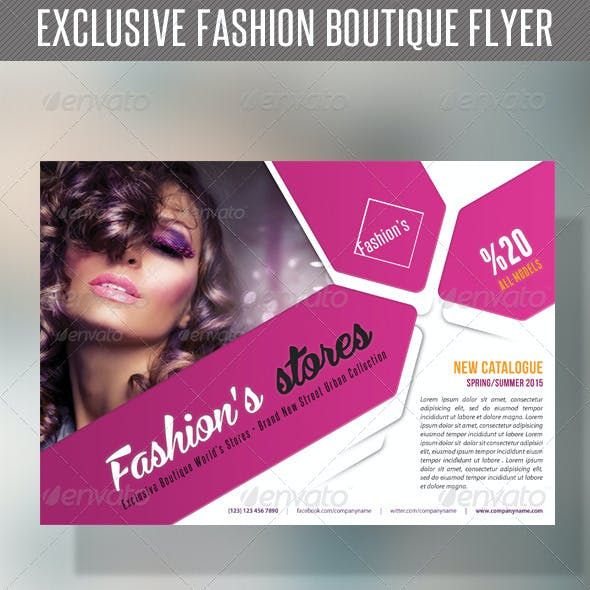 Fashion Product Flyer 54