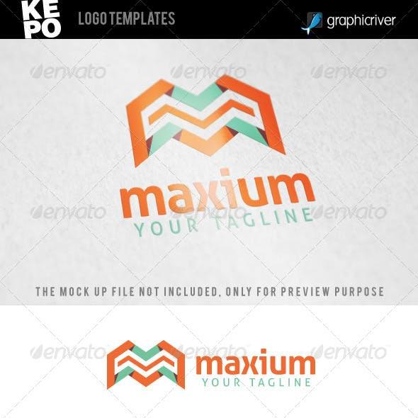 Maxium - M Letter Logo Templates