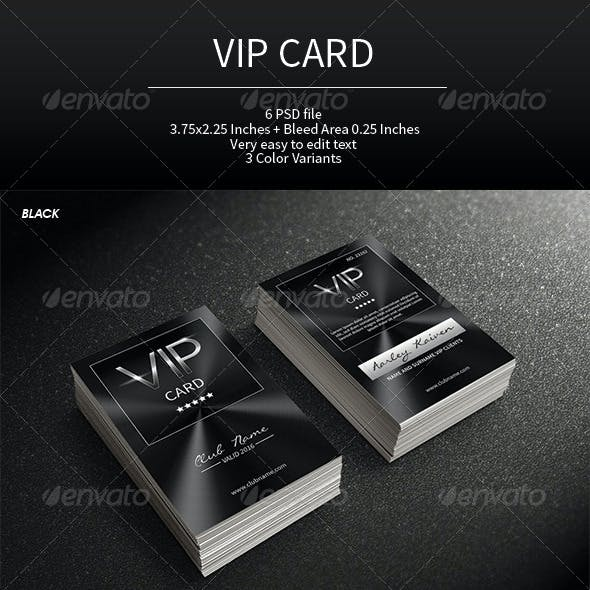 Multipurpose VIP Card