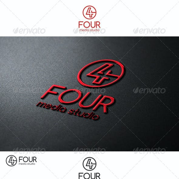 Four Logo Number