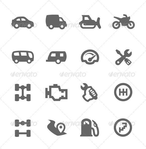 Auto Icons - Miscellaneous Icons