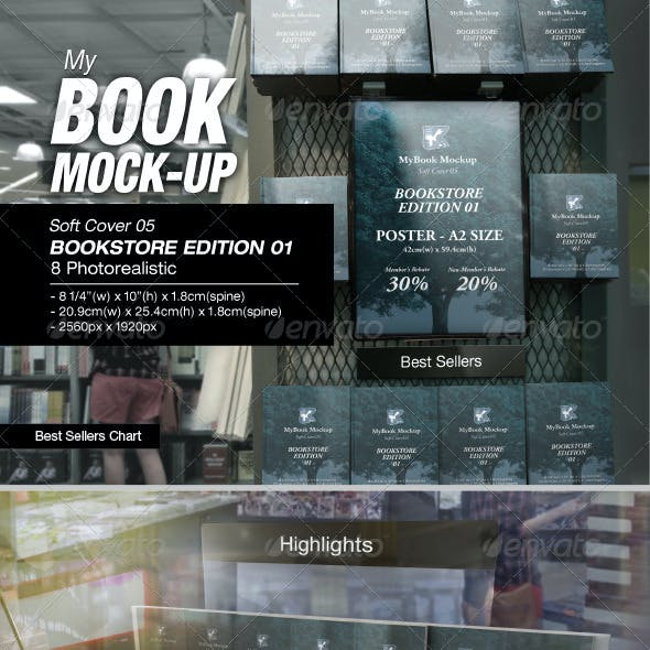 Bookstore Edition 01 Mock-up