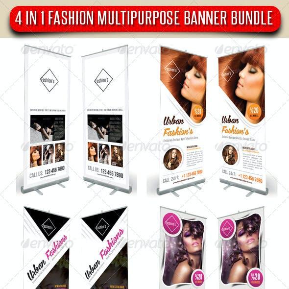 4 in 1 Fashion Multipurpose Banner Bundle 11