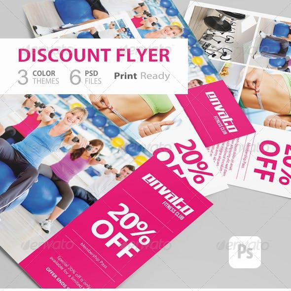 Discount Flyer