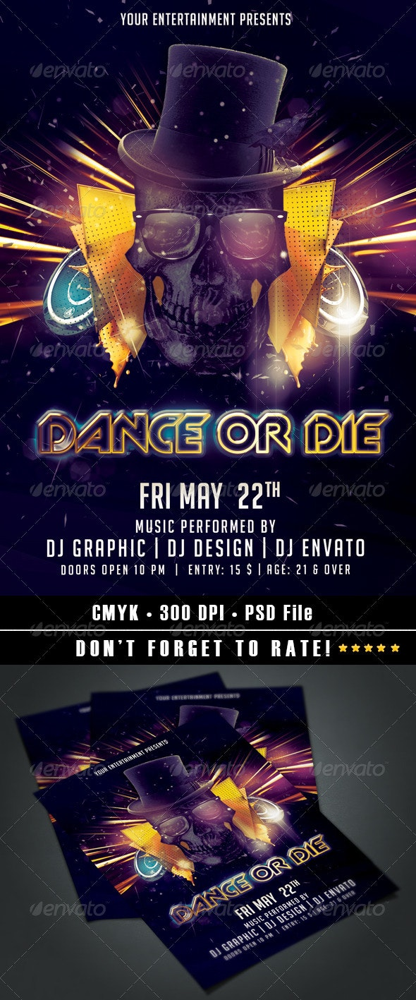 Dance or Die - Clubs & Parties Events