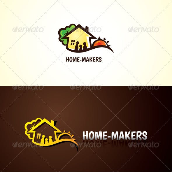 Home Makers Stock Logo Template