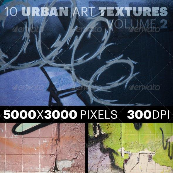 10 Urban Art Textures Volume 2